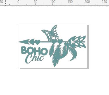boho chic 200 x 130. feathers arrows  Choose your medium min buy